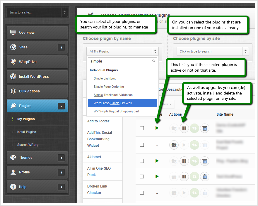 icontrolwp plugin manager for bulk plugin updates icontrolwp