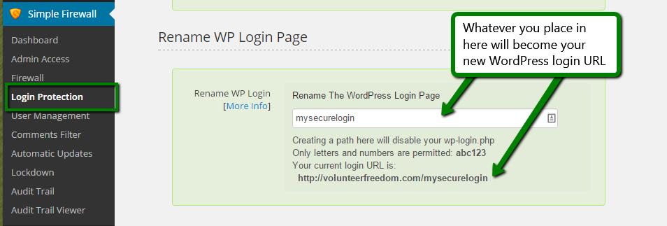 Security: Rename The WordPress Login Page (wp-login.php