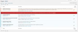 Screenshot: iControlWP Security Firewall Feature - Plugin Vulnerabilities