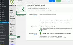 By blocking WordPress author scanning you prevent WordPress username fishing