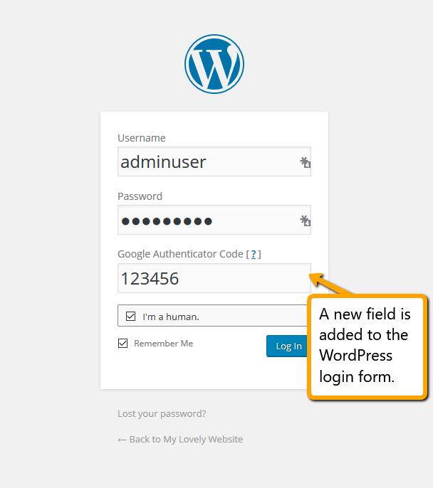 Wp Login: Easy Google Authenticator For WordPress Login Security