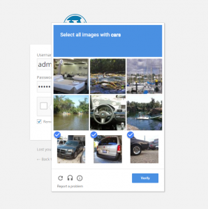 WordPress Google ReCaptcha Example