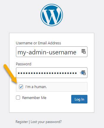 GASP WordPress Login Form Protection